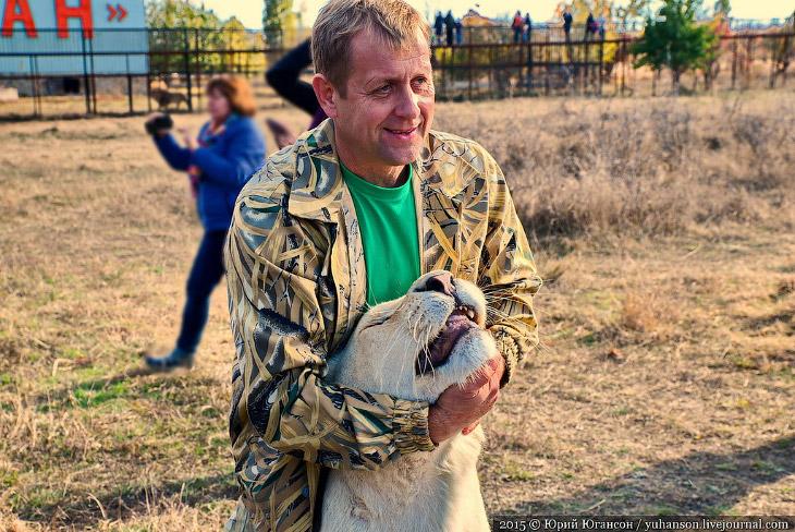Сафари-парк Тайган в Крыму