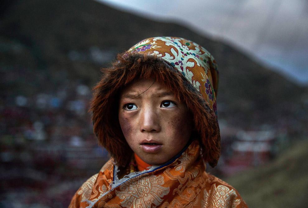 Маленький тибетский буддийский кочевник