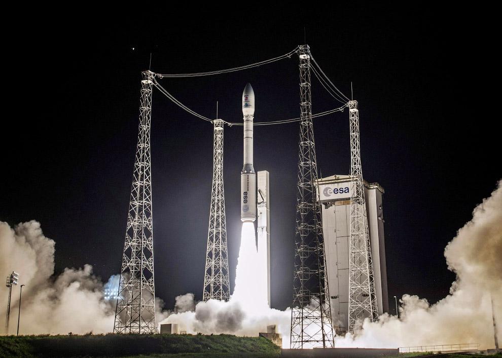 Старт космического аппарата LISA Pathfinder