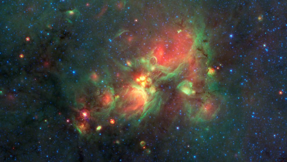 Формирование новых звезд во Млечном пути