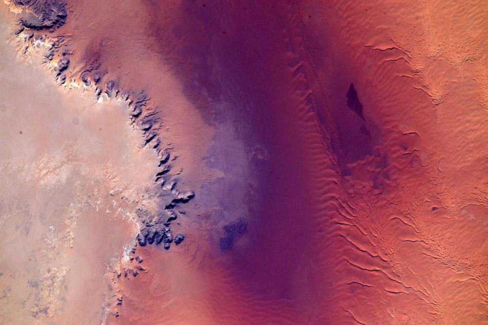 Африка с высоты МКС
