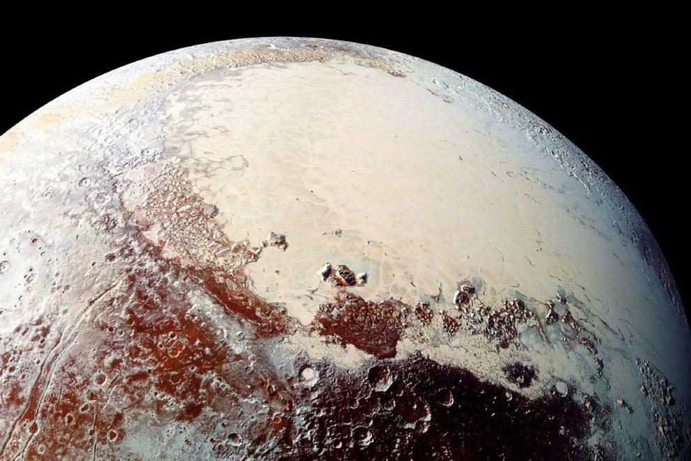 Плутон — крупнейшая известная карликовая планета Солнечной системы