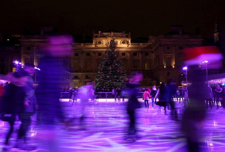 Новогодняя ёлка в Лондоне, Великобритания
