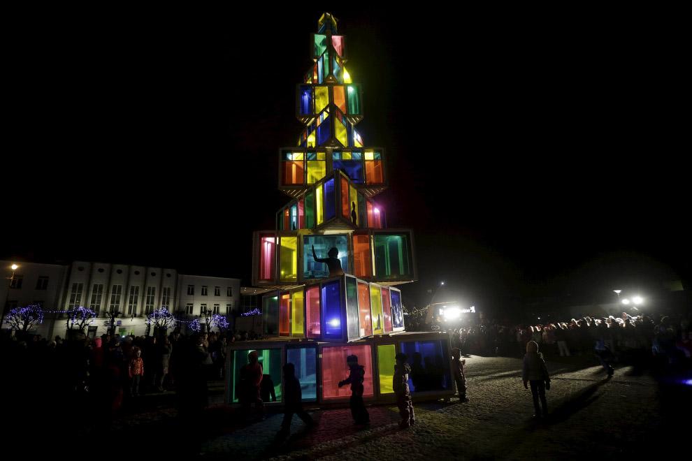 Новогоднее дерево по-эстонски