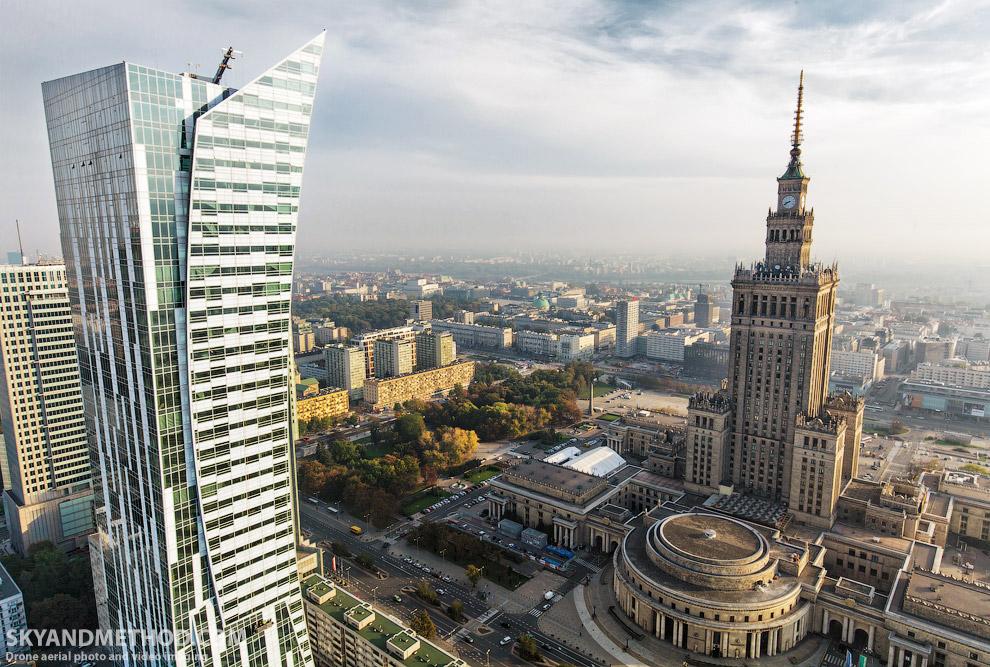 Варшава с высоты