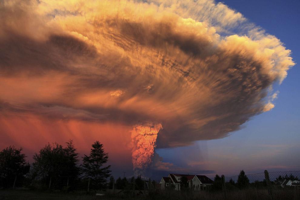 Вулкан Кальбуко в Чили