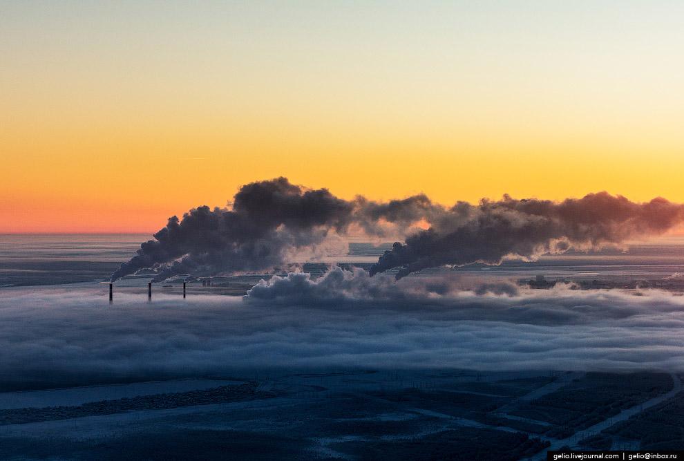 Сургутская ГРЭС-2 — крупнейшая тепловая электростанция России.