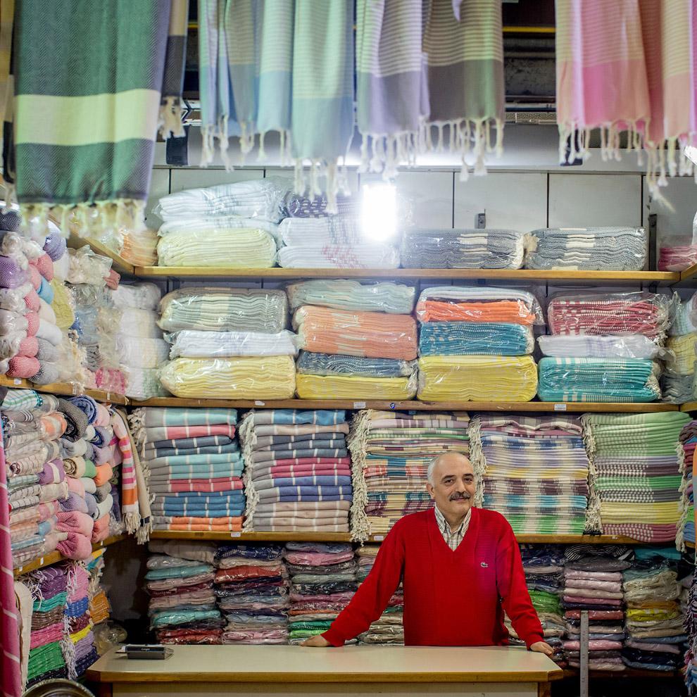 Продажа тканей и полотенец