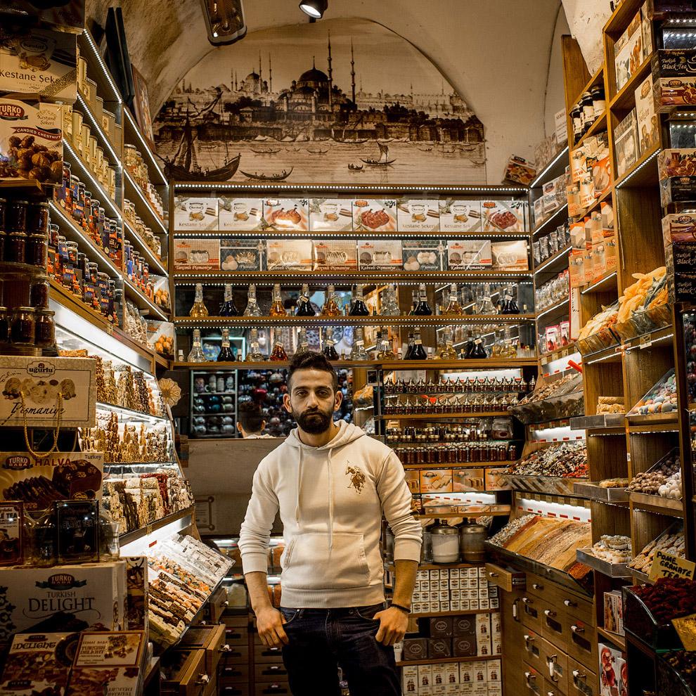 Традиционные сладости и рахат-лукум