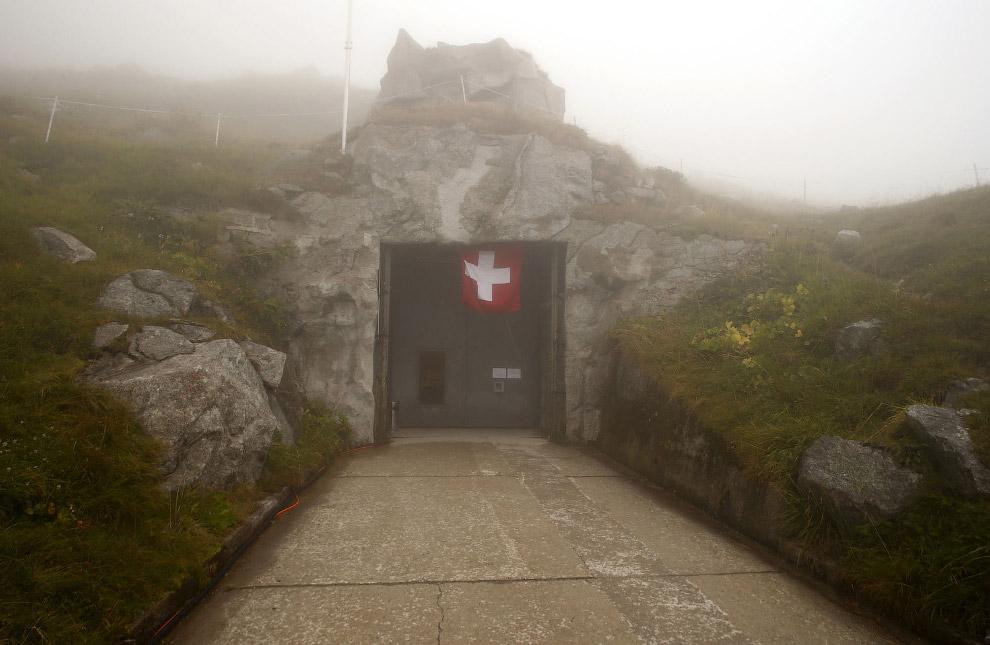 Сен-Готард — самый важный горный перевал Швейцарских Альп