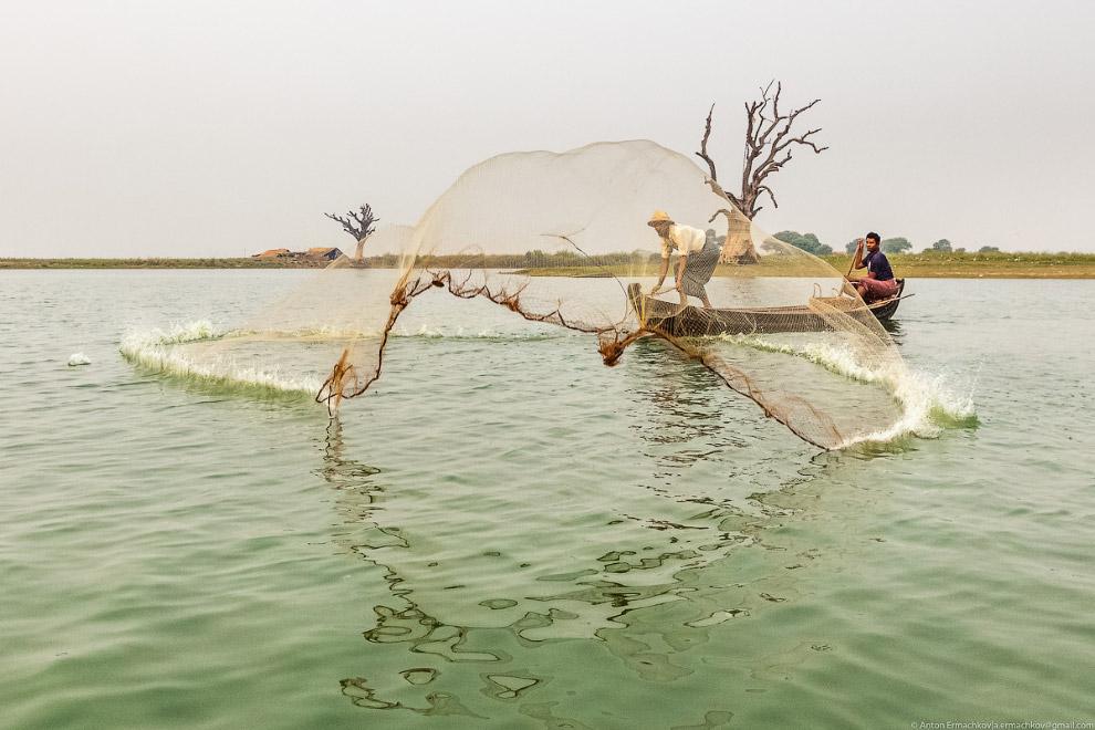 Рыбаки в Бирме