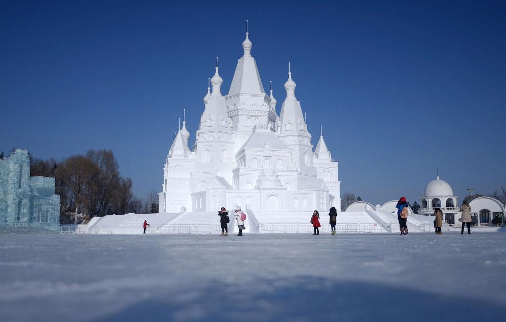 Царство льда и снега в Харбине