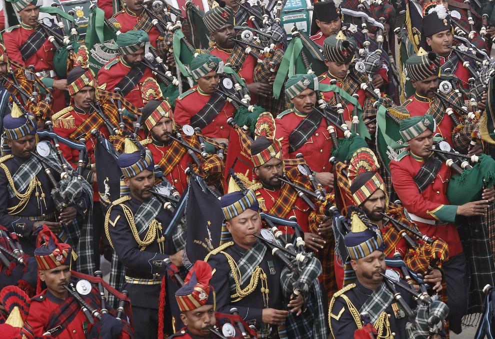 День Республики (Republic Day) введен в Индии в 1950 году и отмечается ежегодно 26 января