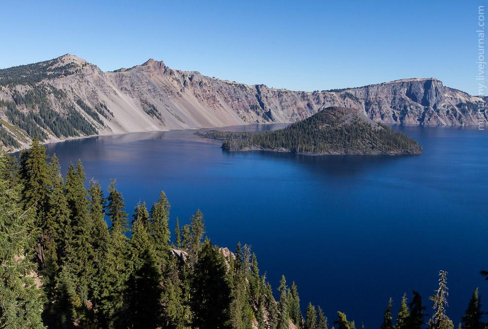 Национальный парк Crater Lake