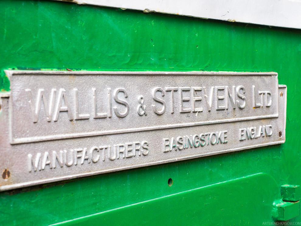 Wallis and Steevens Advance