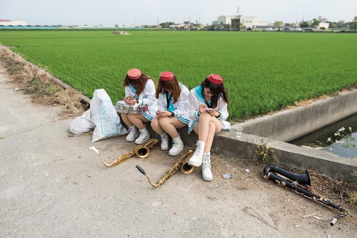 Музыкантши из похоронной процессии, Тайвань