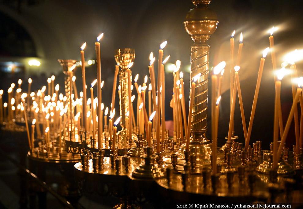 Рождество в Херсонесе, Крым, Россия