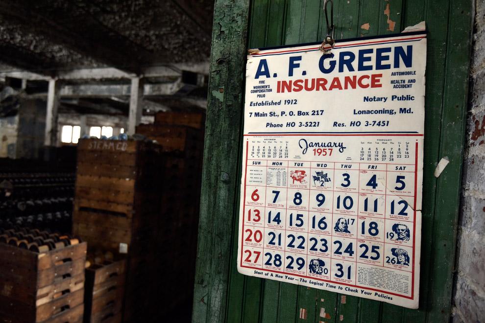 Календарь на январь 1957 года