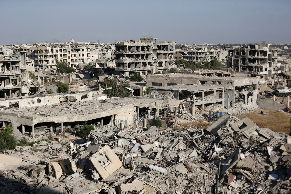 Разрушенный Дамаск