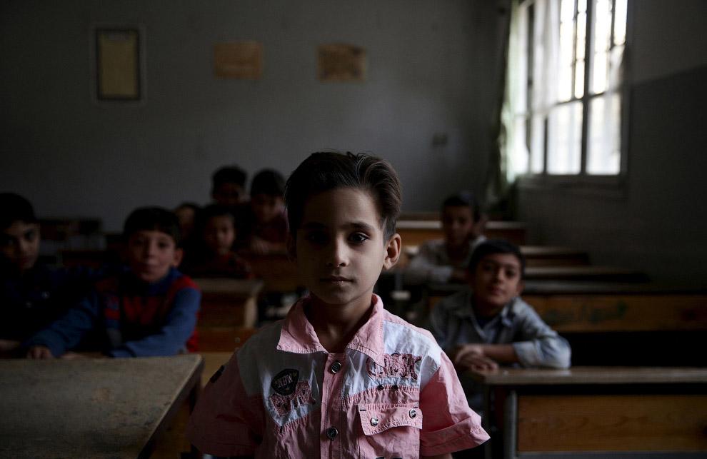 Школа в окрестностях Дамаска
