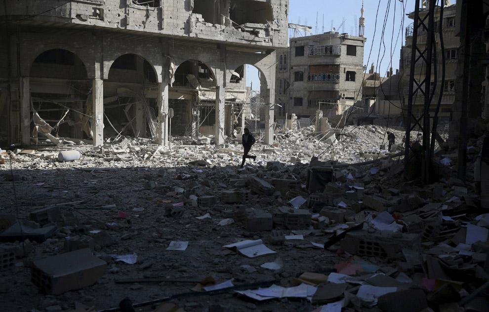 Типичный вид многих сирийских городов