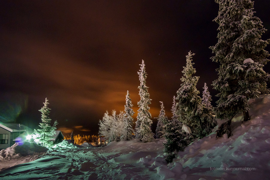 Что можно увидеть в небе над Лапландией?