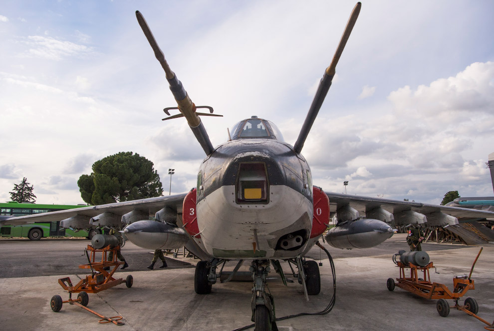 Авиационная база российских ВВС в Сирии