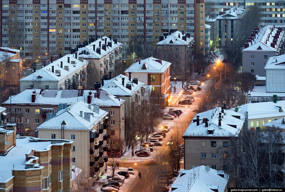 Жилые дома на Киевской улице.