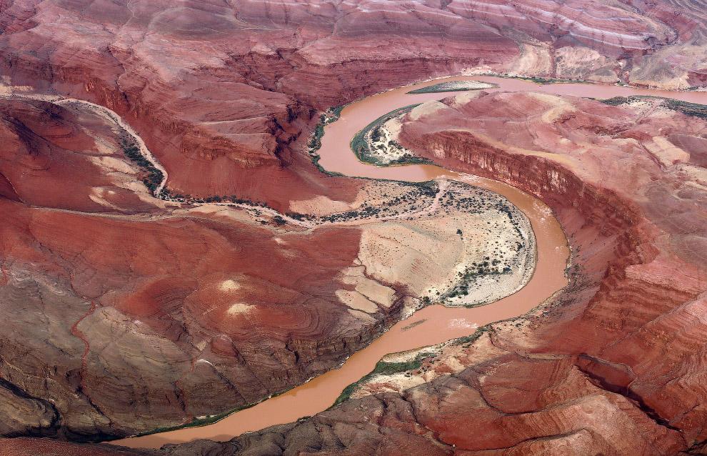 Река Колорадо и Гранд-Каньон в Аризоне