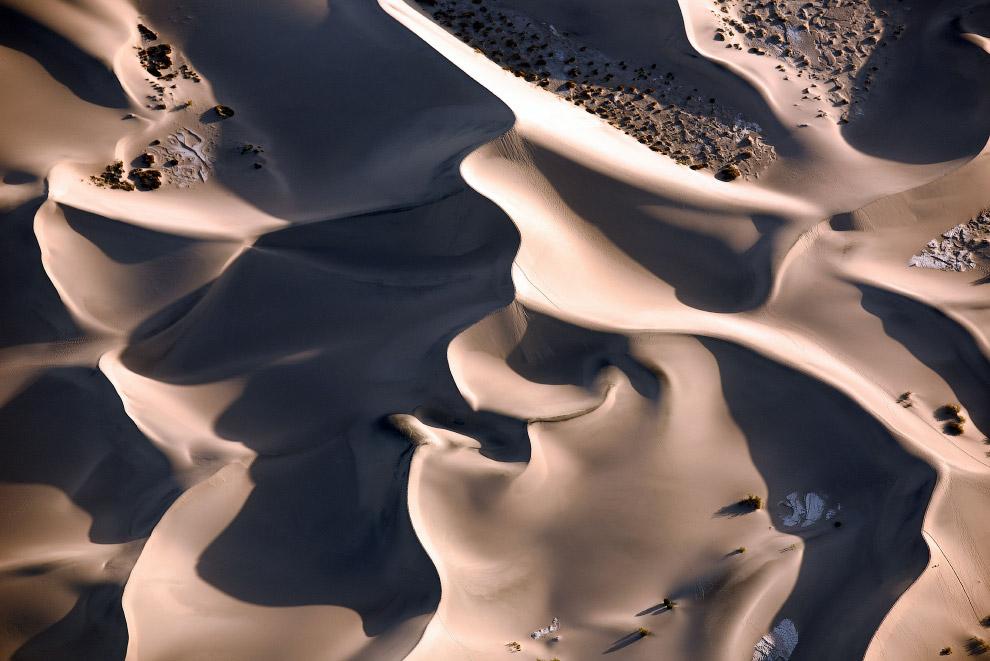 Дюны в Долине Смерти, Калифорния