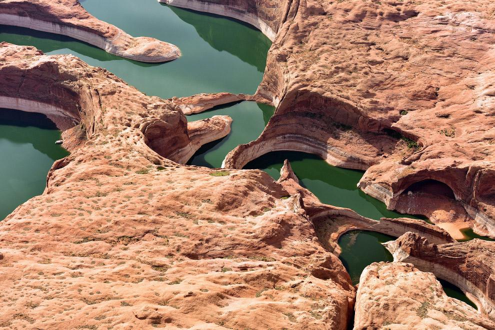 Река Колорадо и каньон Глен в Аризоне, США