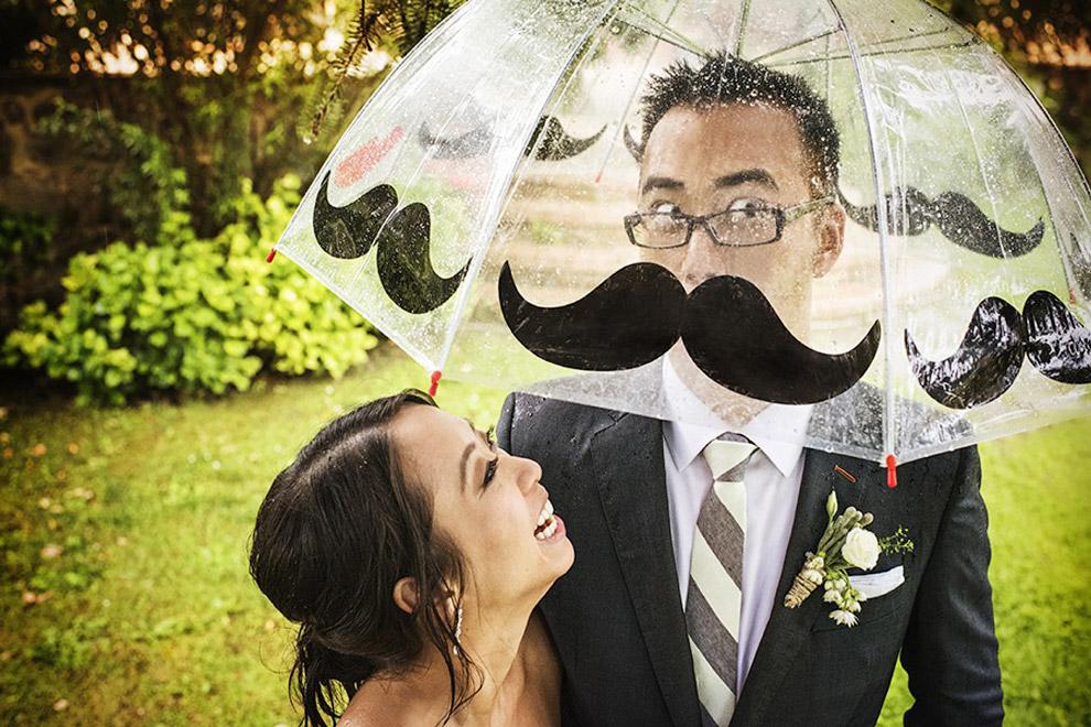 Самые забавные свадебные фотографии 2015