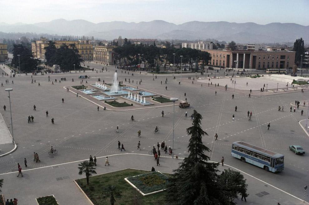 Центральная площадь столицы: