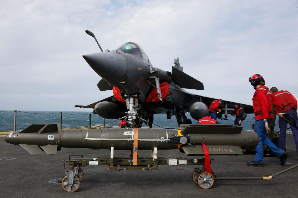 Ракеты для палубного самолета Rafale М