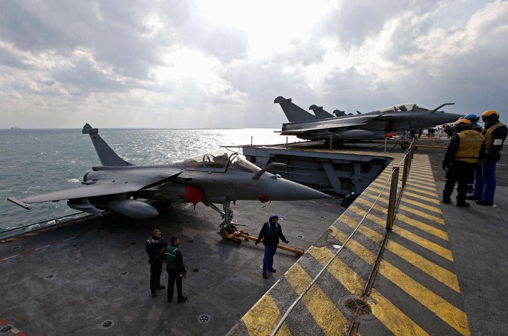 Истребителей палубного базирования Rafale M