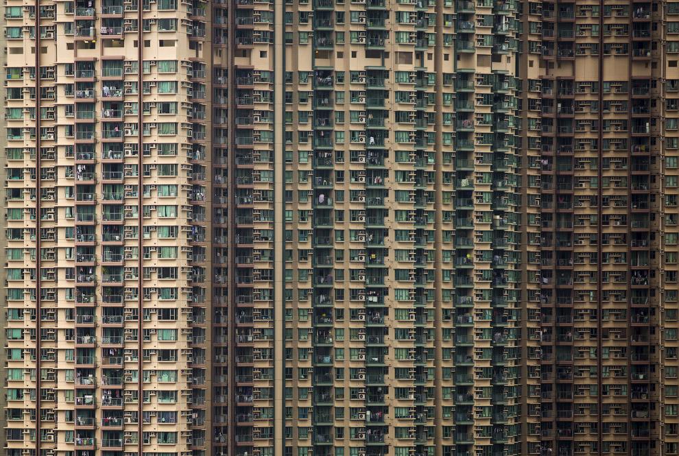 Китайские «муравейники» — жилые массивы в Гонконге