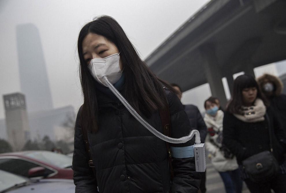 С воздухом в Китае не все в порядке