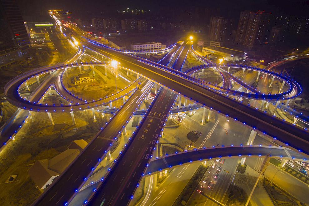 Китайские развязки впечатляют