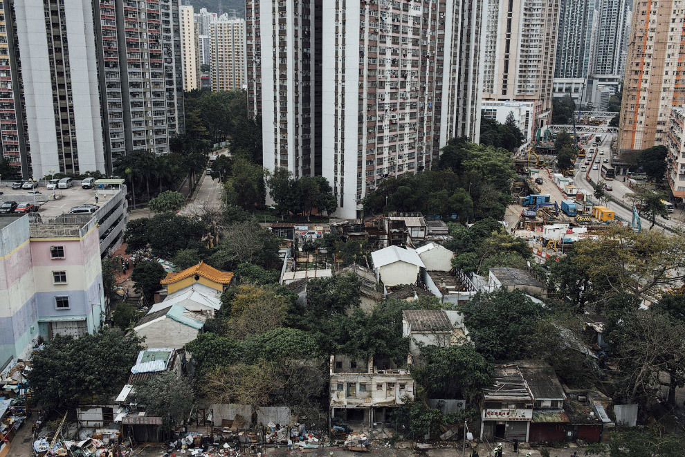 Остатки старой деревни в Гонконге