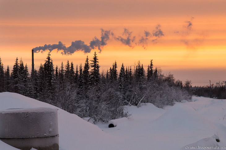 Зимние Хибины. Суровые, странные и удивительные