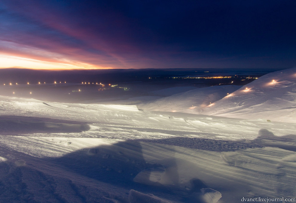 Зимние Хибины