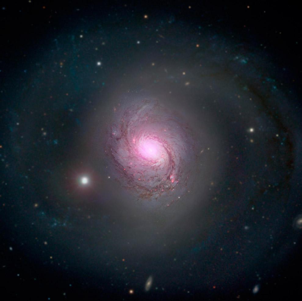 Галактика M 77 в созвездии Кит