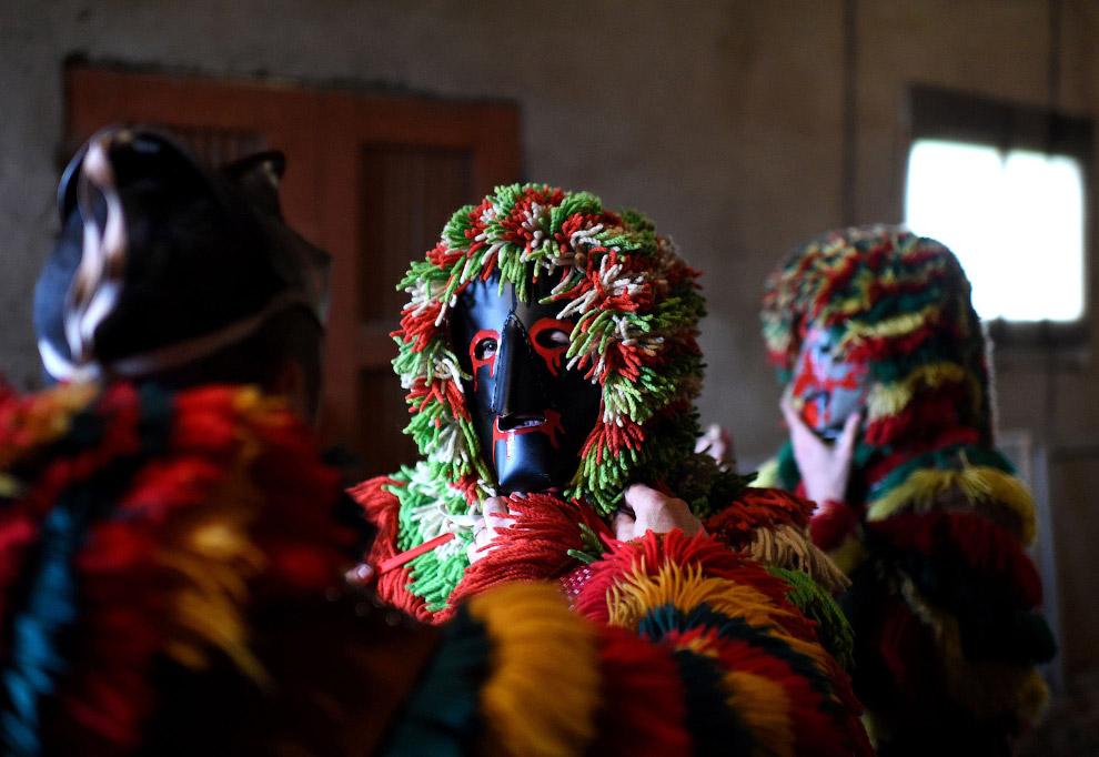 Карнавал на северо-востоке Португалии