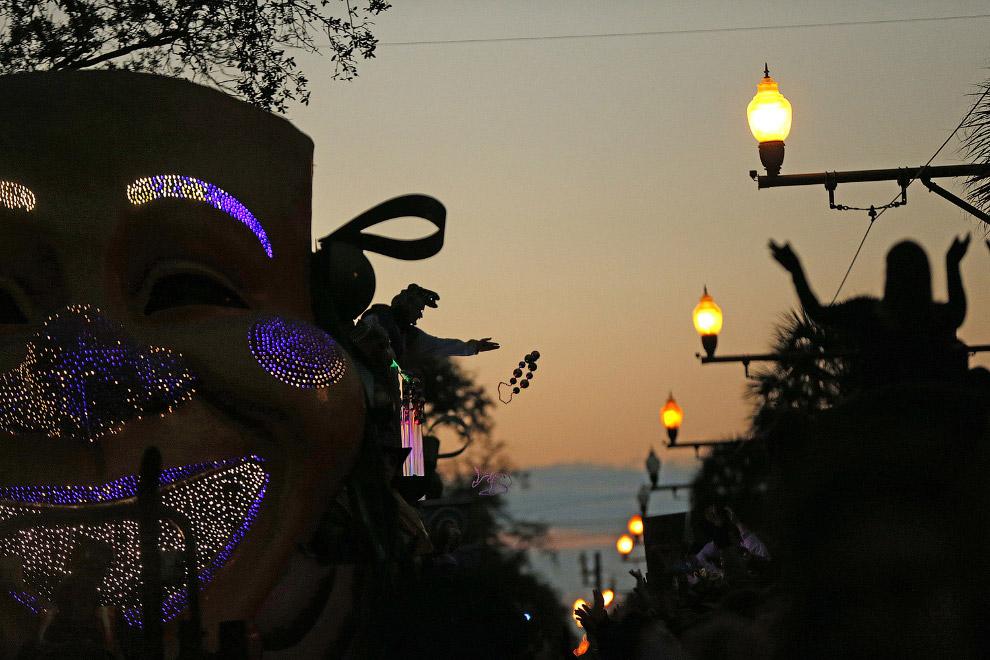 Парад в Новом Орлеане