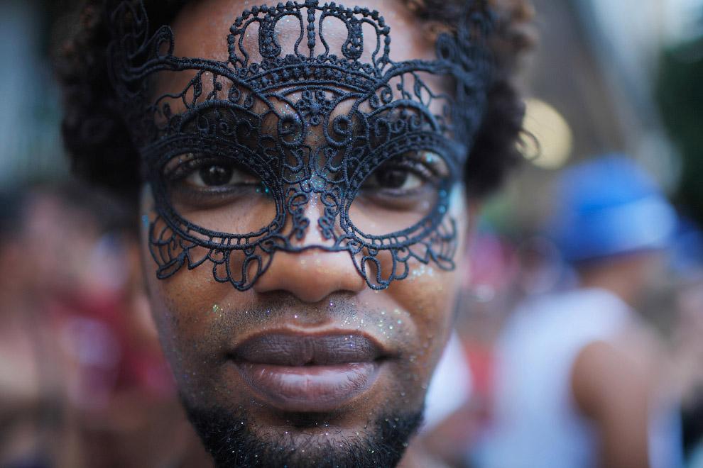 Карнавальное шествие в Рио-де-Жанейро, Бразилия