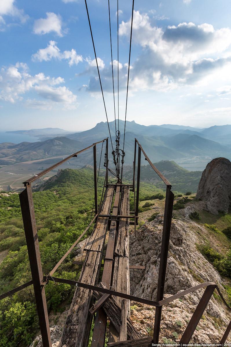 Заброшенная лунная станция в КрымуЗаброшенная лунная станция в Крыму