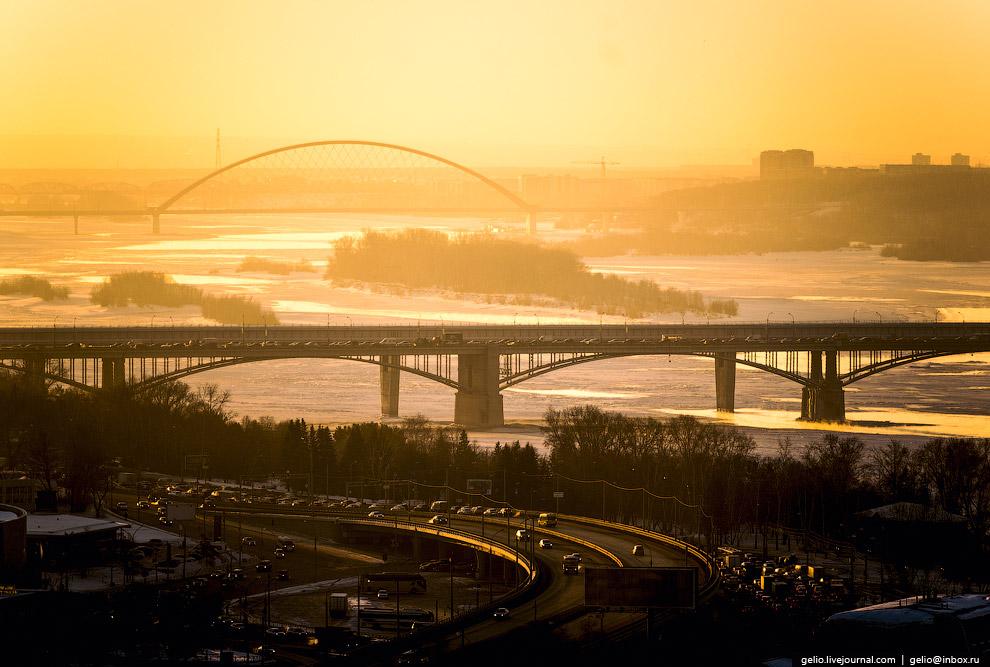 Мосты через Обь.