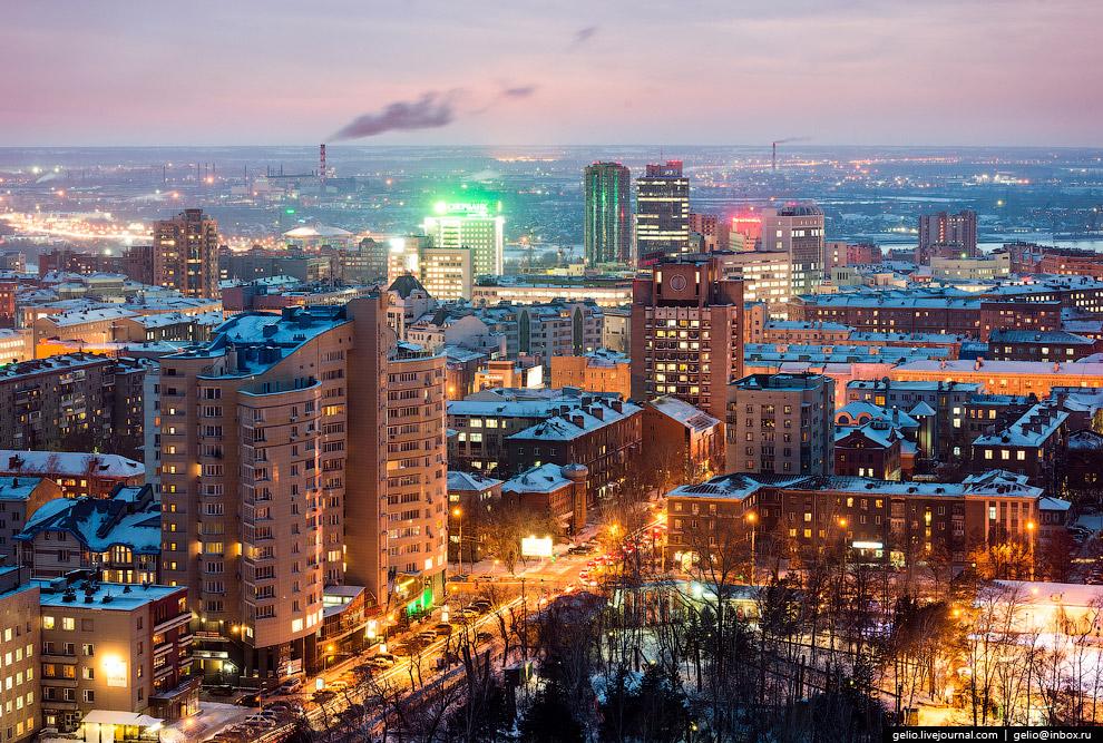 Центральный парк. Улица Ядринцевская.