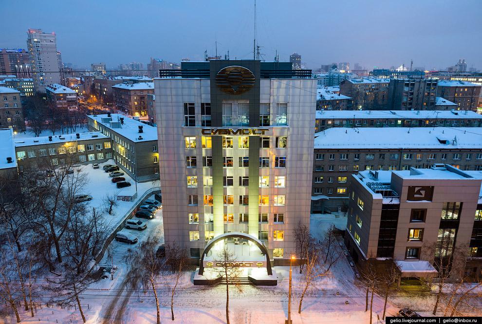 Головной офис ОАО «Сибмост».