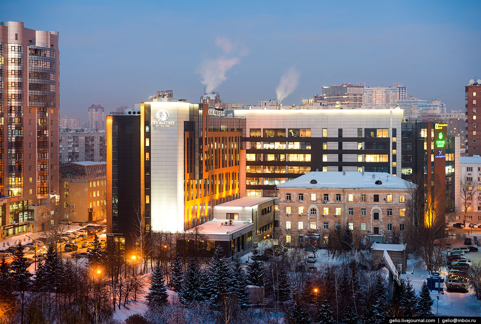 Гостиница «Doubletree by Hilton Novosibirsk».